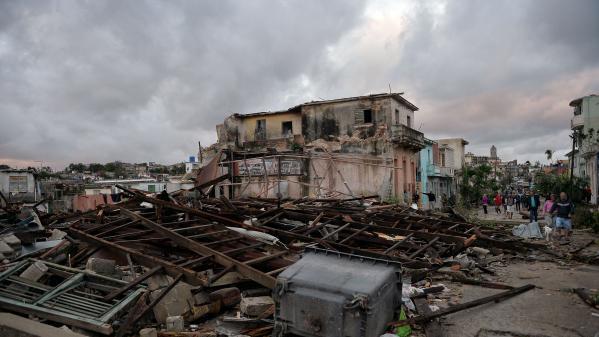 Cuba : une tornade fait au moins 3 morts et 172 blessés