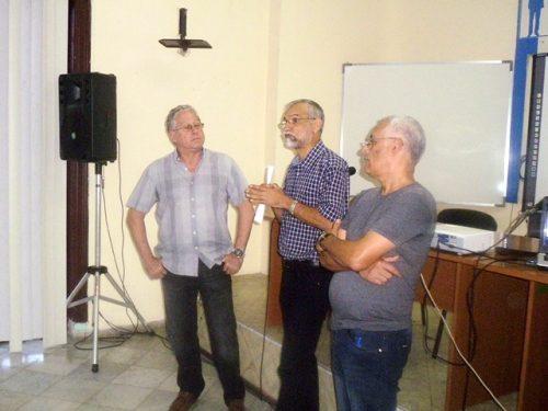 Apertura del Taller de Periodismo Económico, en el Instituto Internacional de Periodismo José Martí (Foto: JGC)