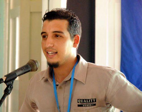 El periodista Luis Mario Rodríguez es subdirector de periódico Ahora, de Holguín (Foto: Ahora)