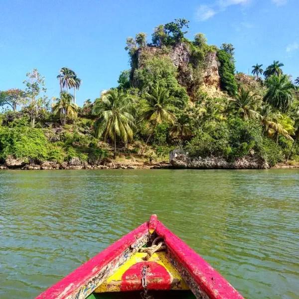 Toa river in Baracoa