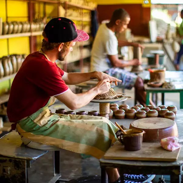 Trinidad pottery workshop