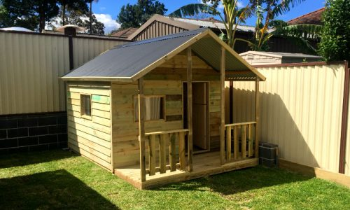 Extra Large Cubby with verandah