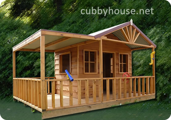 A cubby house reading haven  Cubby House Blog