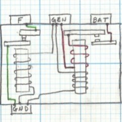 Wiring Diagram For Starter Solenoid Lx Torana Checking A Mechanical Voltage Regulator | Cubcadetman.com