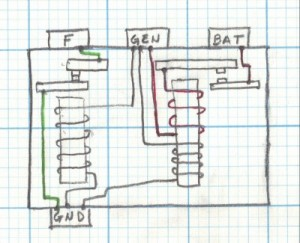 wiring diagram starter solenoid sub panel box checking a mechanical voltage regulator | cubcadetman.com