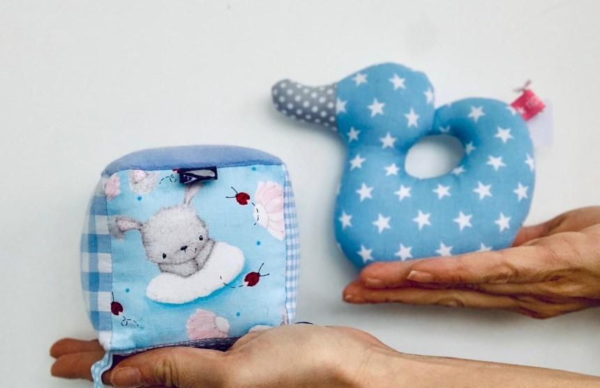 Babyrasseln von cuBe-box.ch