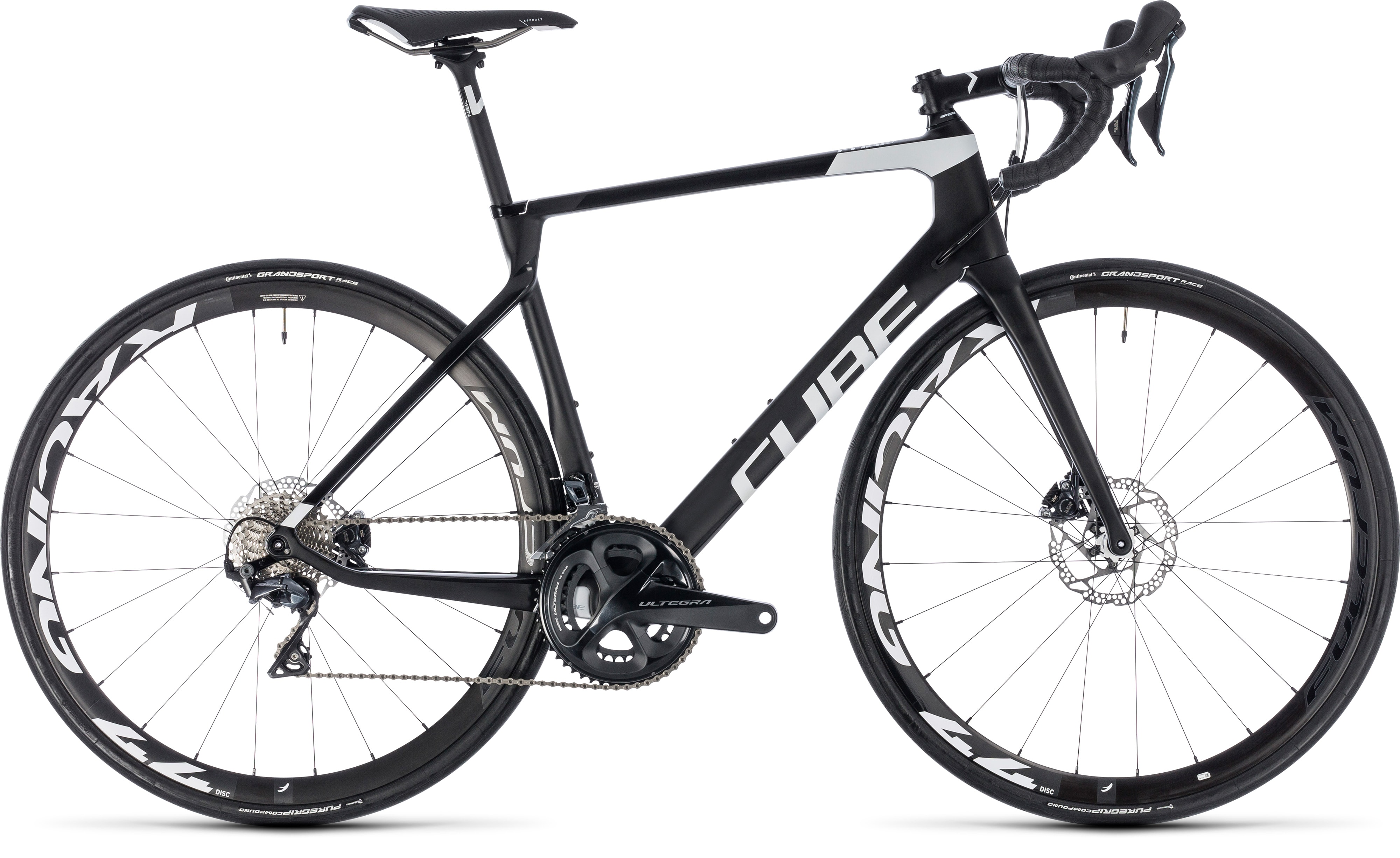 Cube Agree C 62 Race Disc Carbon N White