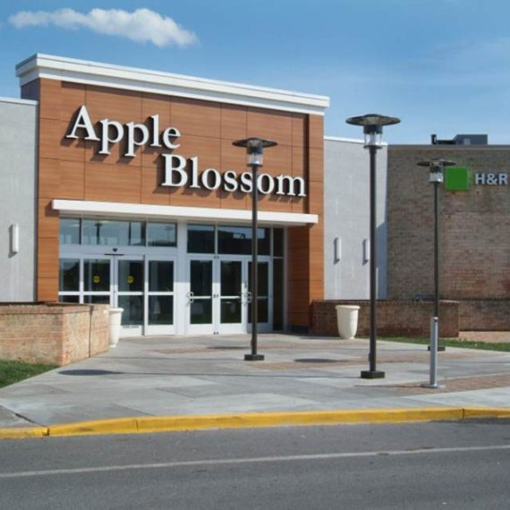 Apple Blossom Mall Entrance in Winchester VA