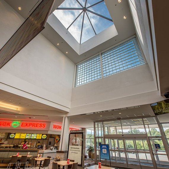 Crystal Mall Food Court Renovation in Waterford CT