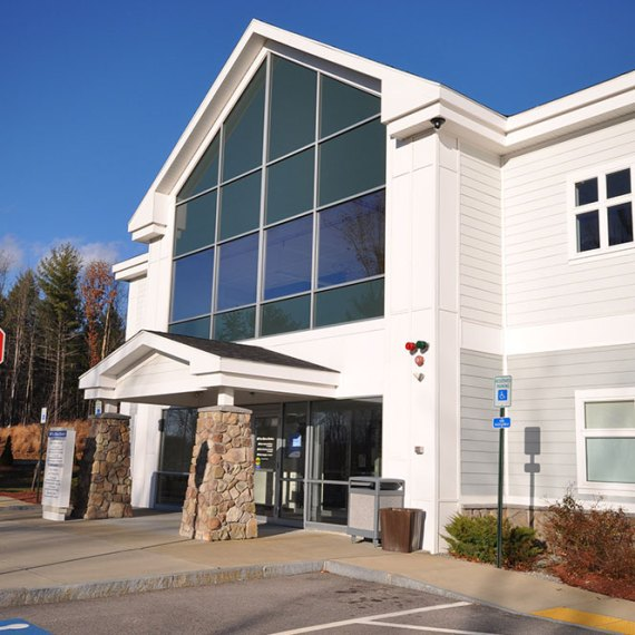 The Elliot Medical Center at Hooksett Entrance