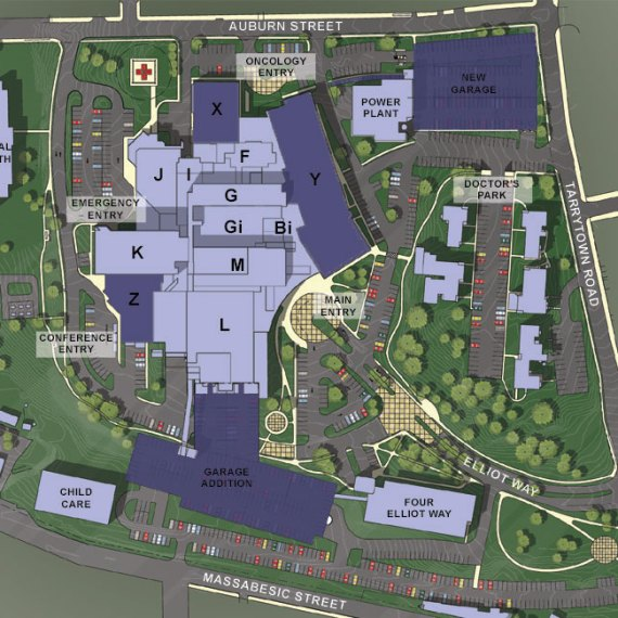 Comprehensive master plan of the Elliot in Manchester NH