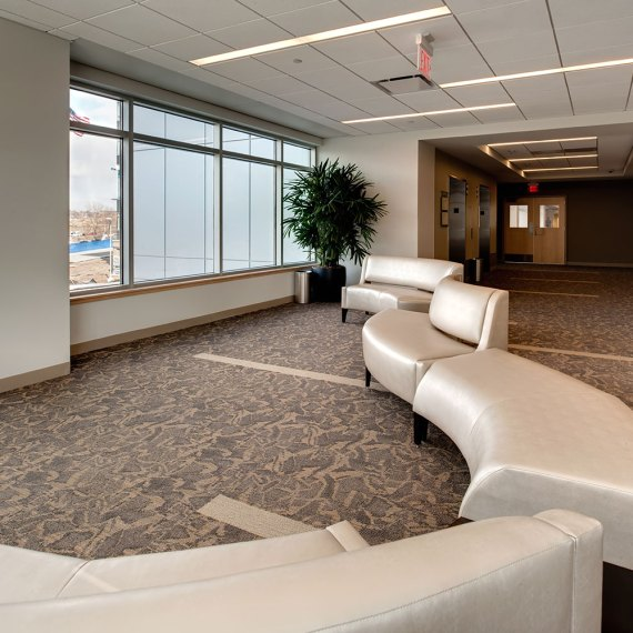 The Elliot at River's Edge Waiting Area and Lounge in Manchester NH
