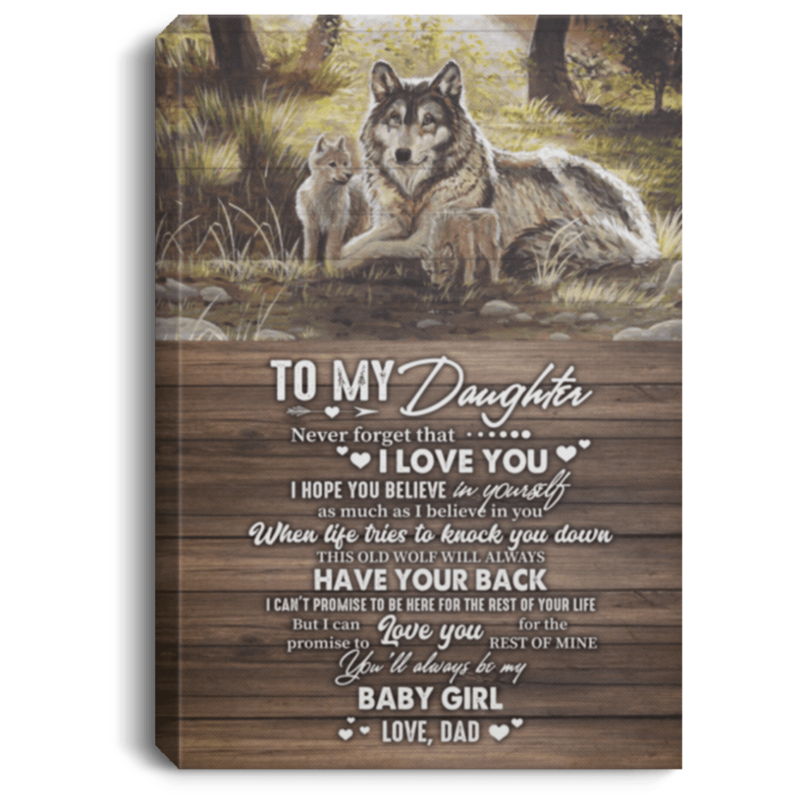 Download To My Daughter Poster   To My Daughter Never Forget That I ...