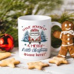 Personalized Hippie Mug Personalized Have Yourself A Merry Little Christmas Mug Cubebik