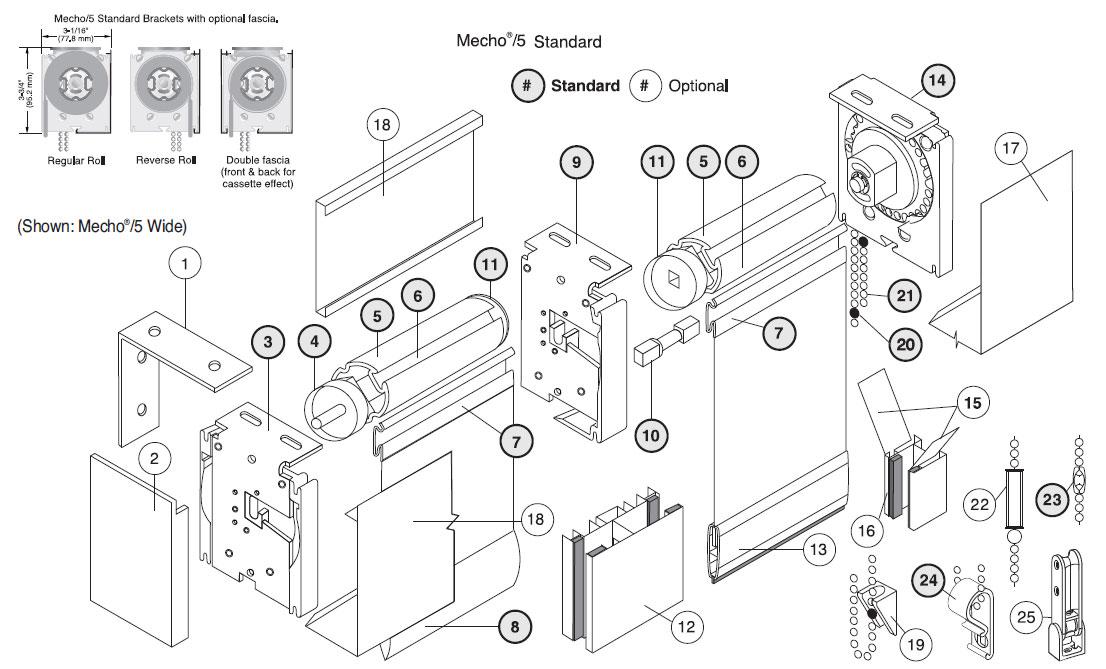 Manual Shades By MechoShades