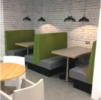 Office Booths - Booth Seating - Banquette Seating