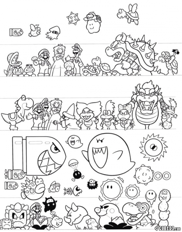 News: Non-Canon: Wario was Mario's Childhood Friend Page 1