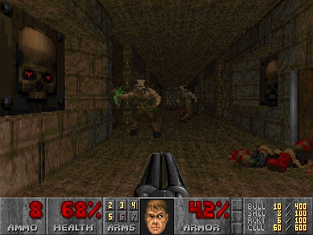 Final Doom PC Screens And Art Gallery Cubed3