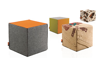Sitzwrfel Sitzhocker Sitzcubes von CubeMakercom kaufen