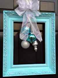 5 DIY Christmas Door Decorations | The Storage Space