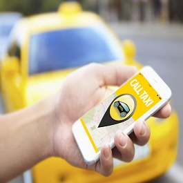 on demand taxi app