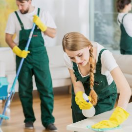 maid cleaning app