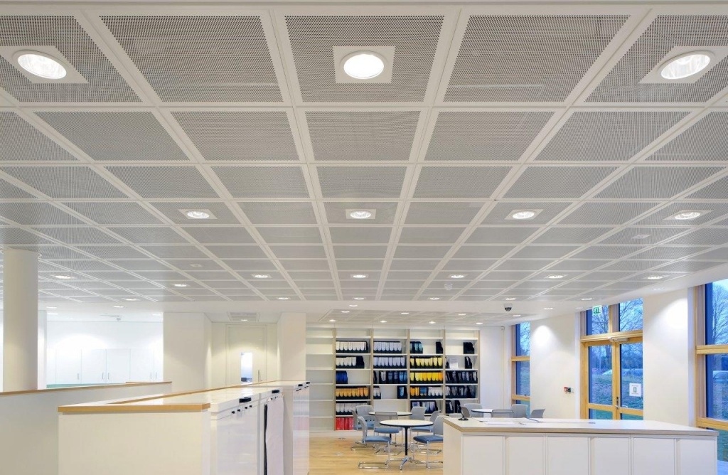 Suspended Office Ceilings Supplier Northamptonshire UK