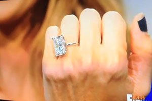Kim Kardashians Engagement Ring Kim Kardashians Wedding