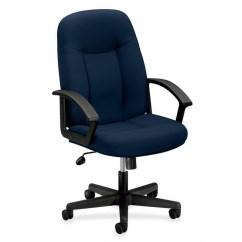 Cloth Office Chairs Handicap Beach Chair Basyx Vl601 Fabric Hon