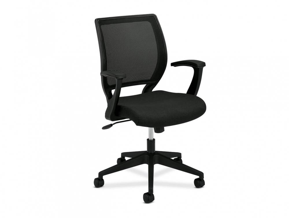 ergonomic chair lower back support hair braiding chairs basyx vl521 mesh office