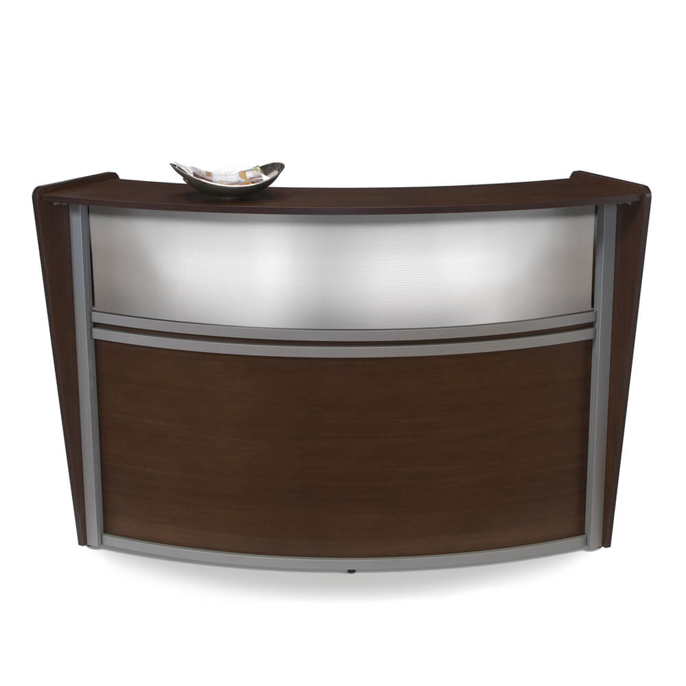 Receive Small Curved Reception Desk