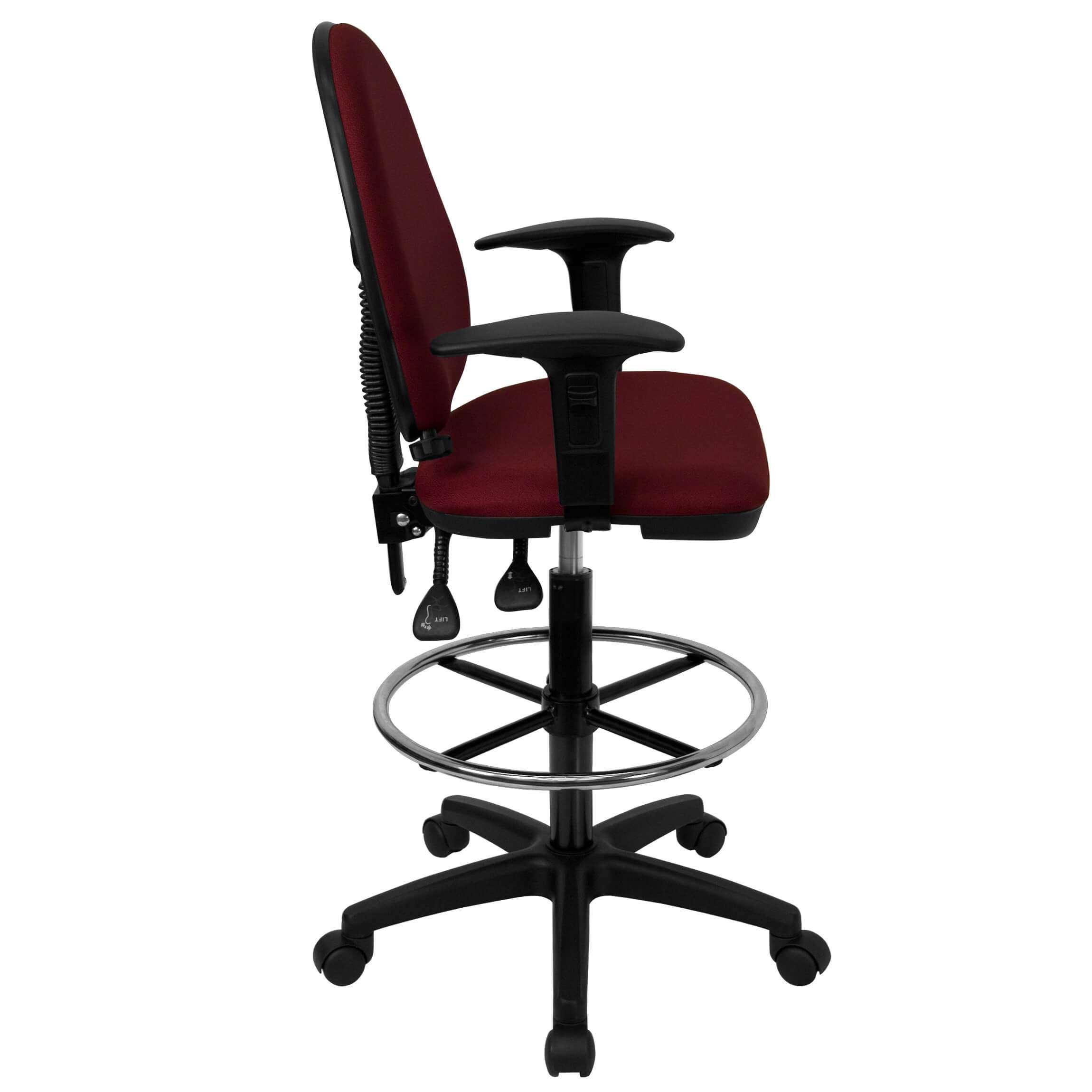 adjustable drafting chair make rocking cushions ursa petite
