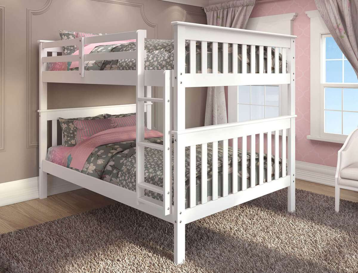 Kids Bunk Beds Snow White Girls Bedroom Furniture