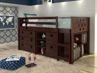 Alvar Low Loft Bed
