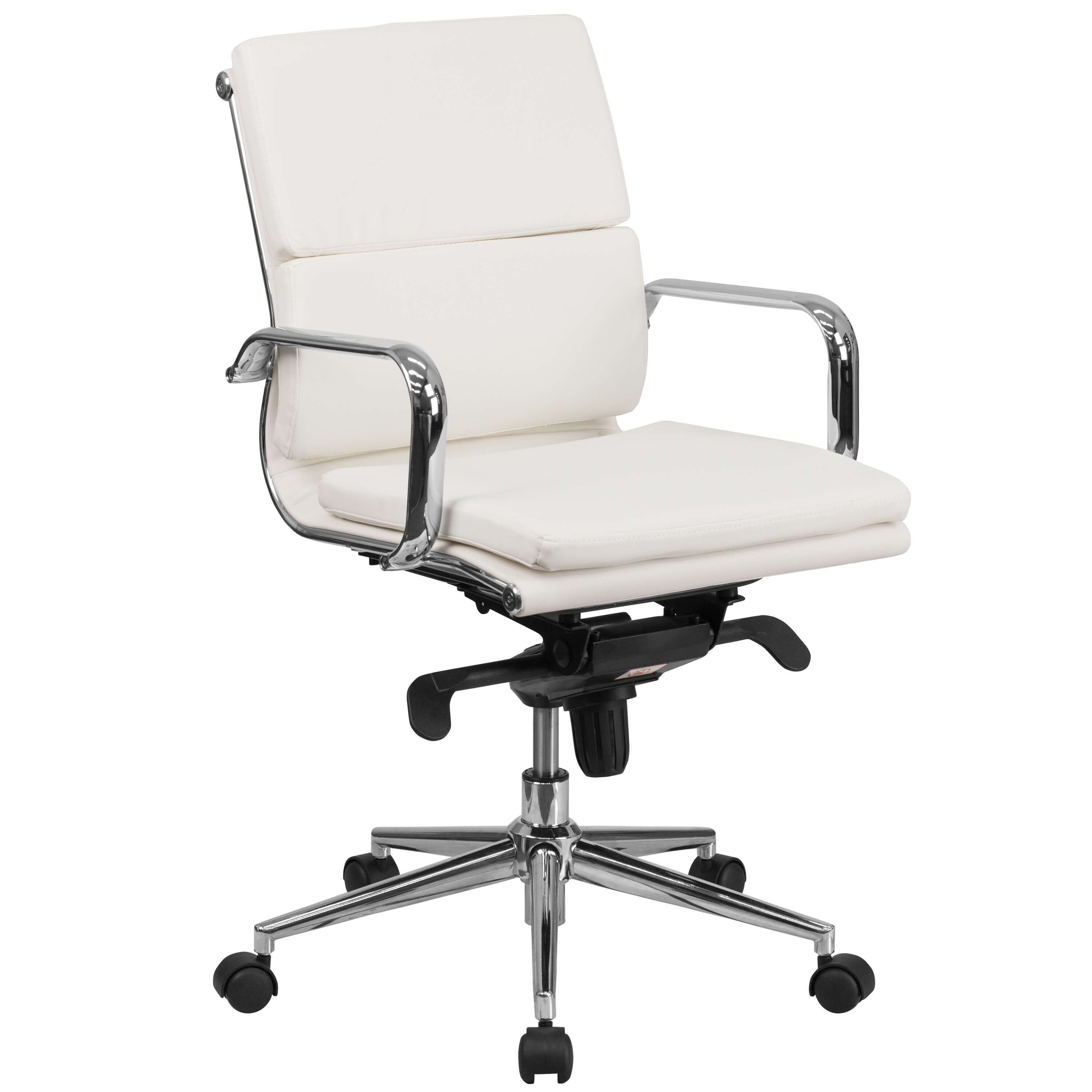 Queen Star Slim and Tall Leather Desk Chair