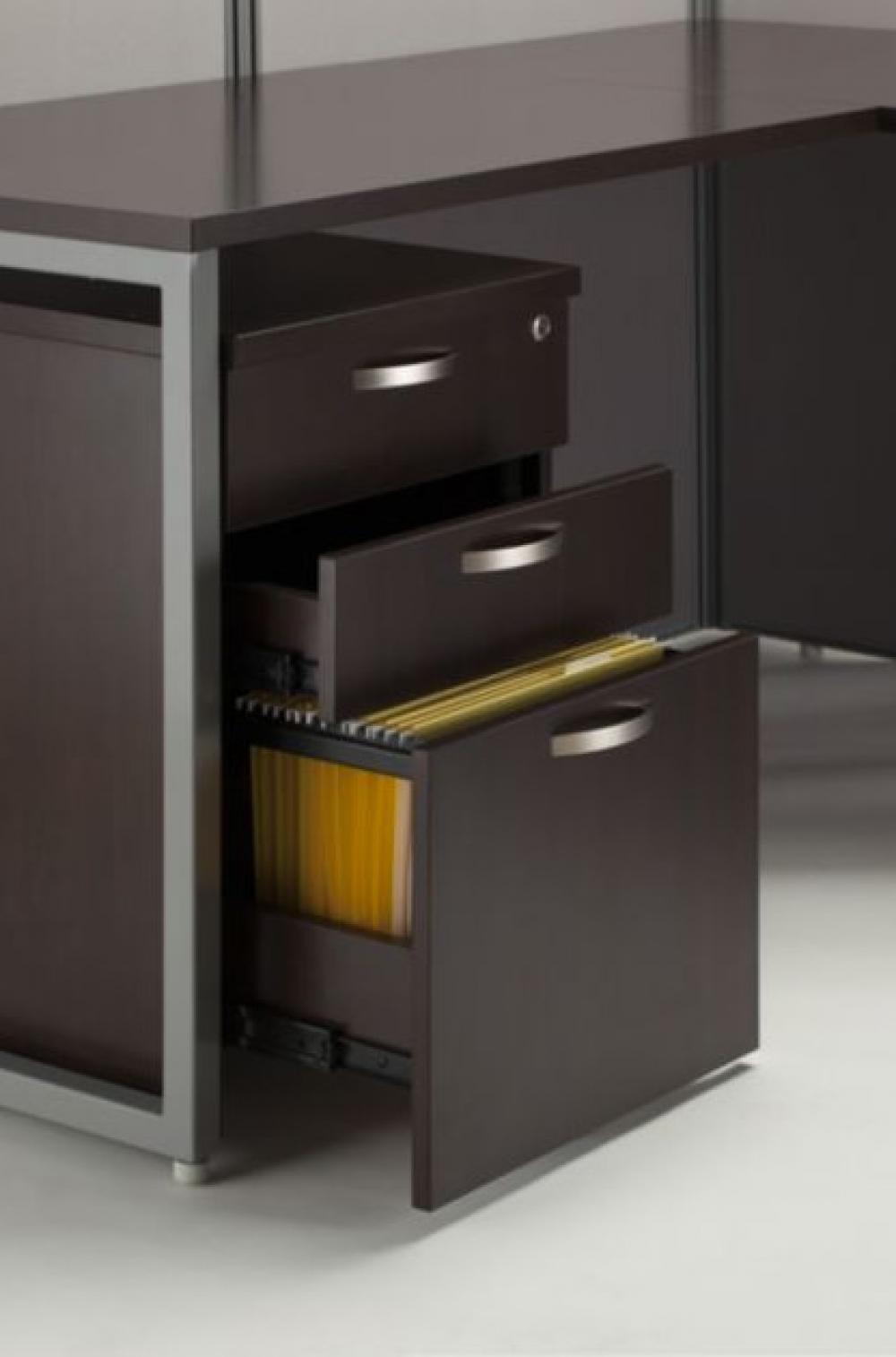60x60 L Shape Desk Cubicles With Storage