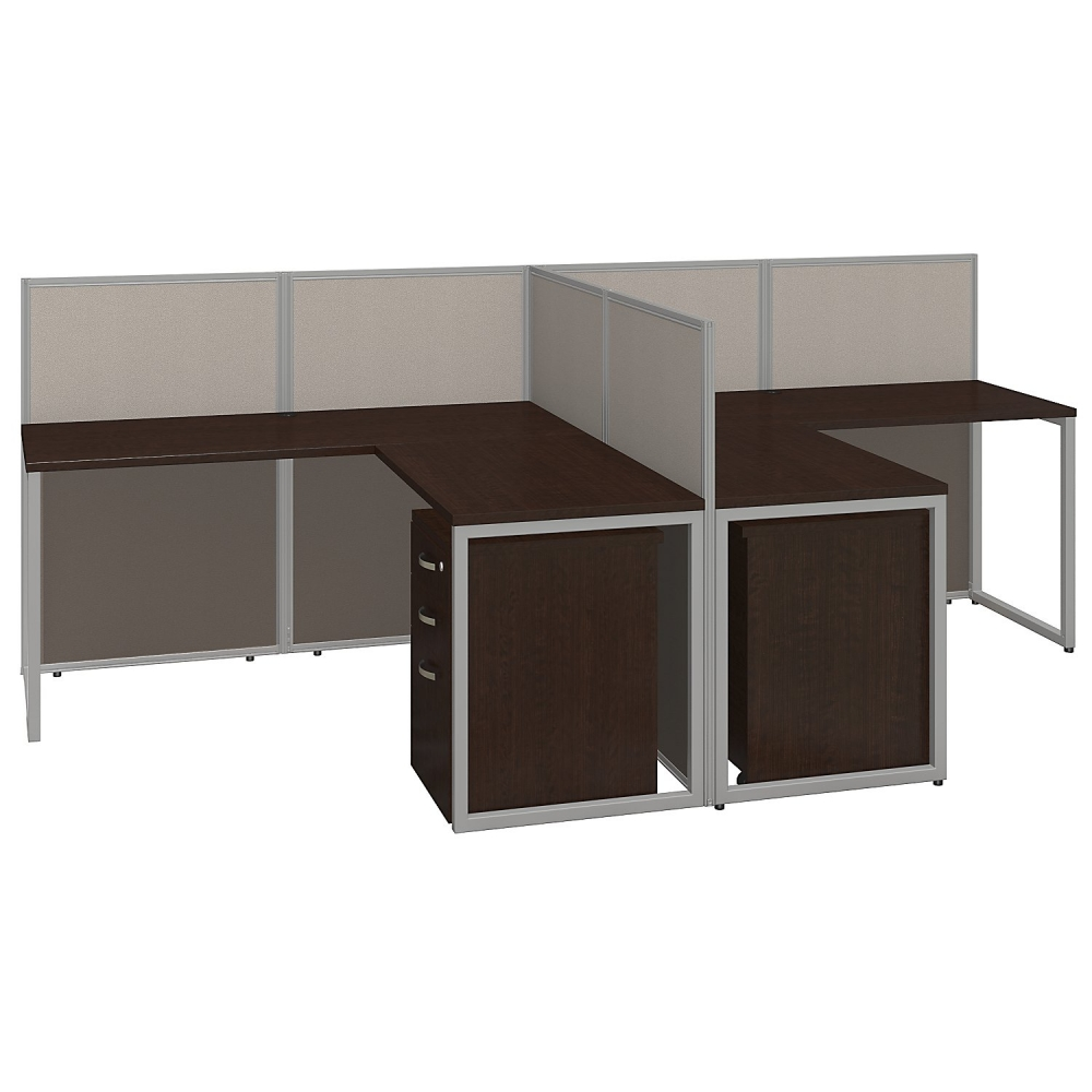 60x60 LShaped Workstation Desks with Storage