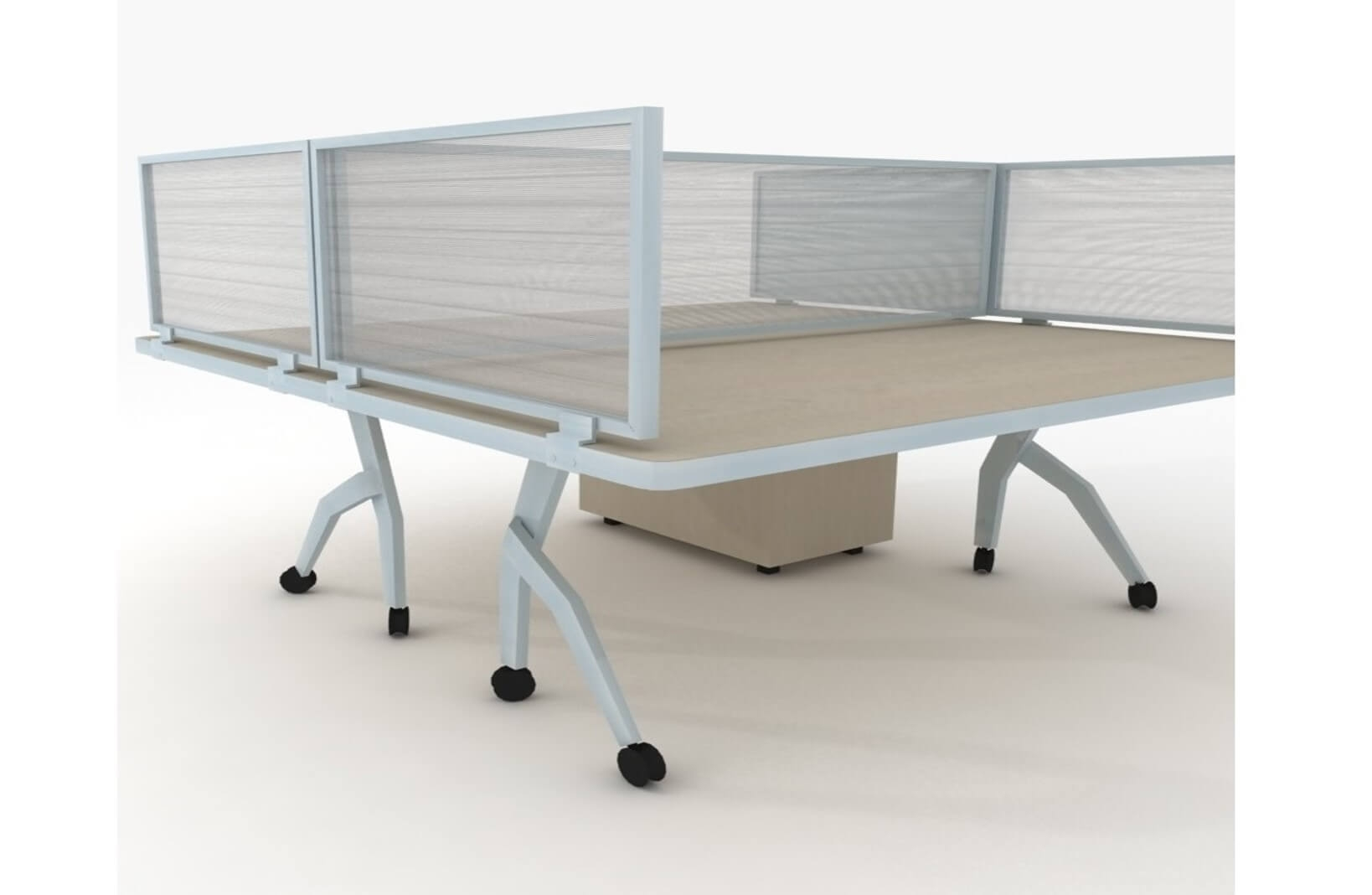 Frontier Office Desk Privacy Panel 12H