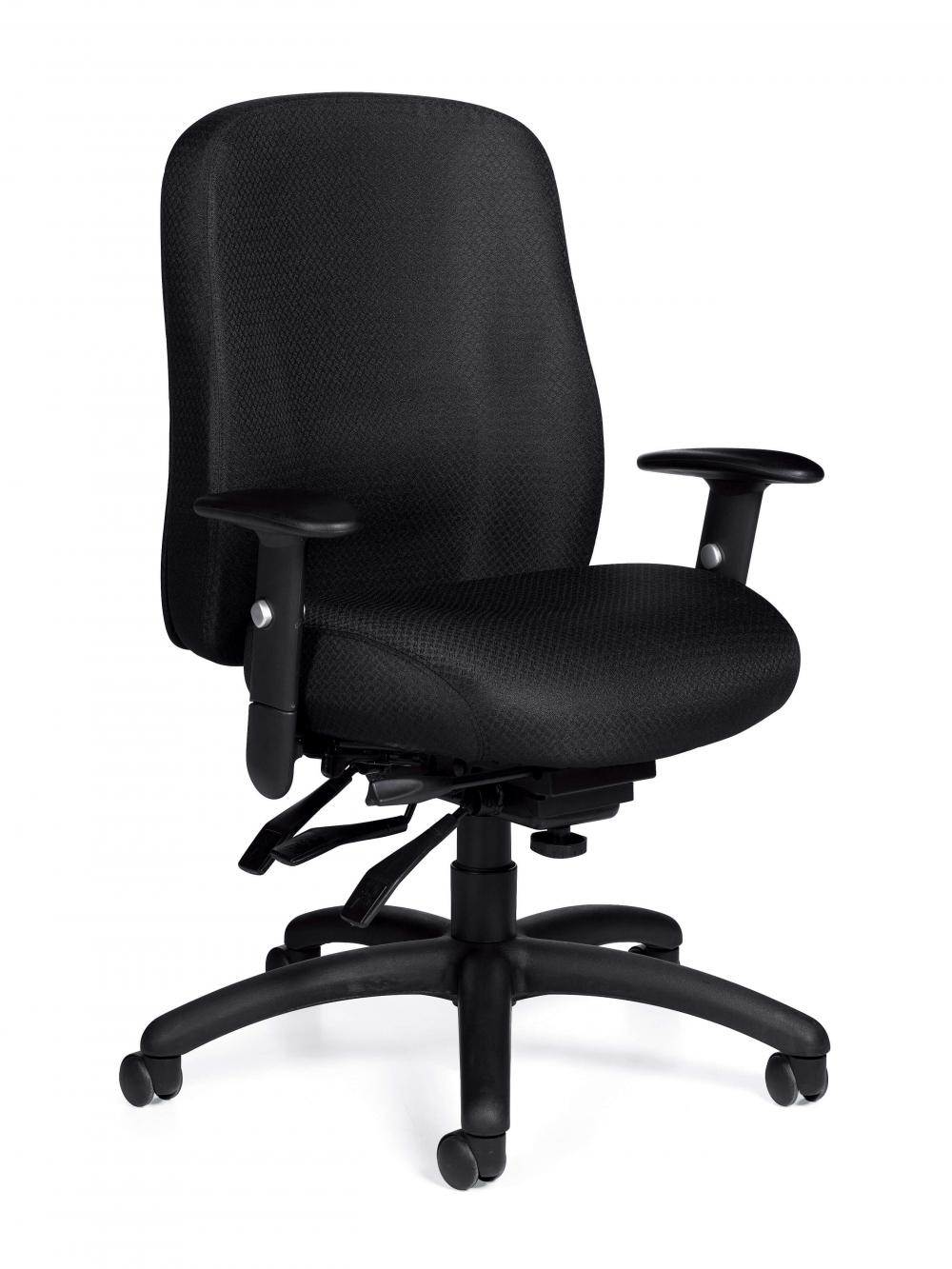 ergonomic chair back angle herman miller aeron office danni upholstered desk chairs