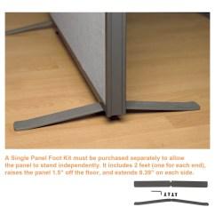 Infinity Massage Chair Green Velvet Swivel Office Partition Walls Footkit Gray