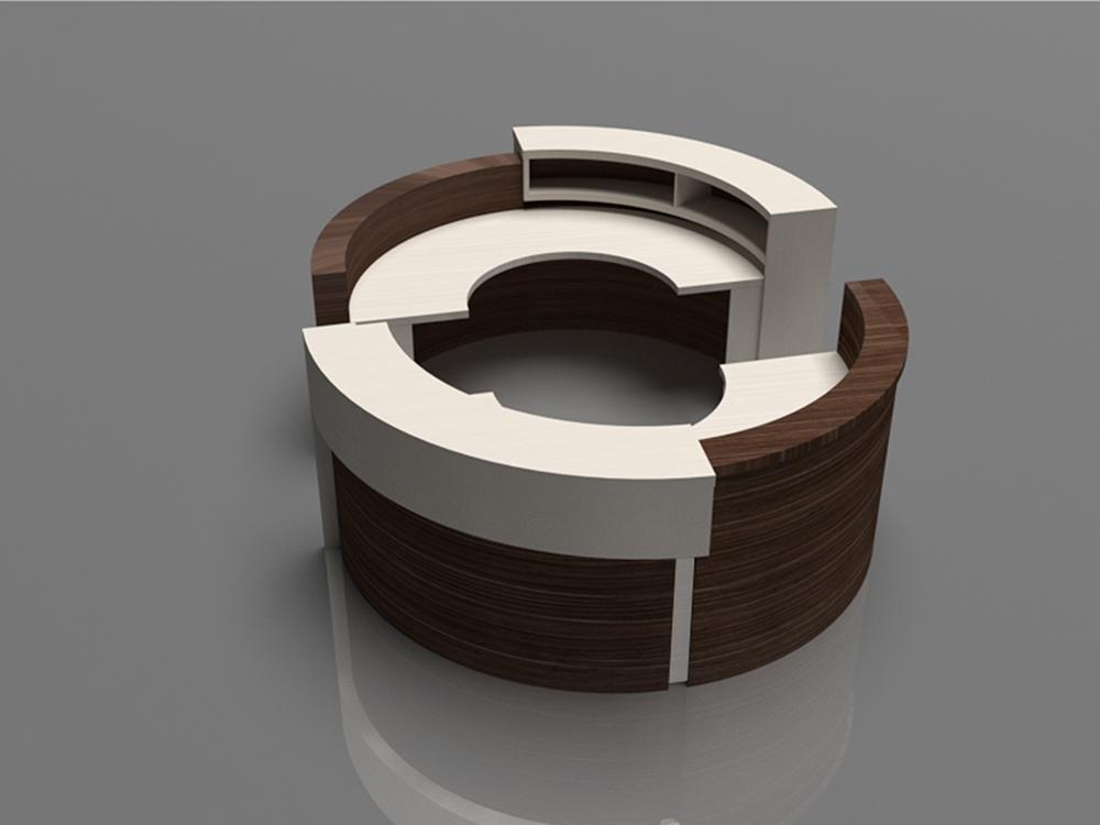 Impress Circular Reception Desk