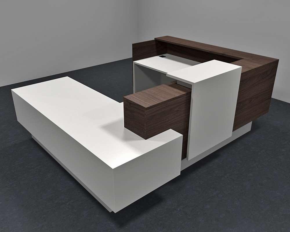 Announce Modern Office Reception Desk