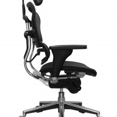 Office Chair Orange Revolving In Surat Ergohuman High Back Tall Chairs