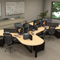 Black Folding Table And Chairs Set Okin Lift Chair Parts Office Workstations Optima By Cubicles.com