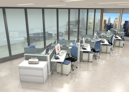 folding floor chair sofa table with hidden chairs office workstations optima by cubicles.com