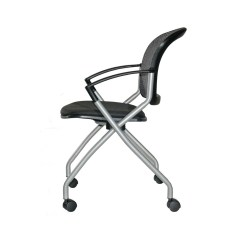 Folding Executive Chair Lowes Lawn Cushions Office Guest Chairs Furniture