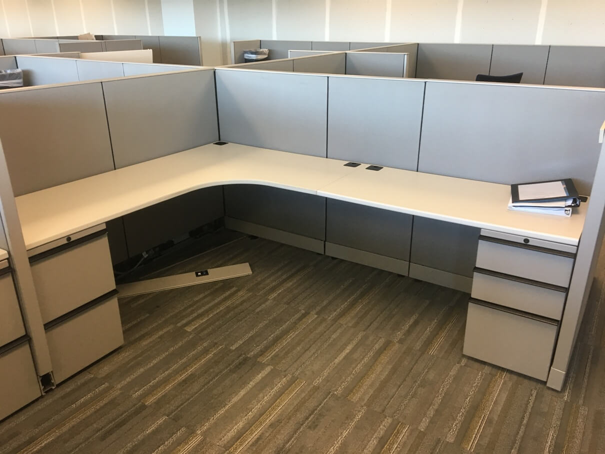 Used Knoll Morrison  Low Panels  Used Cubicles