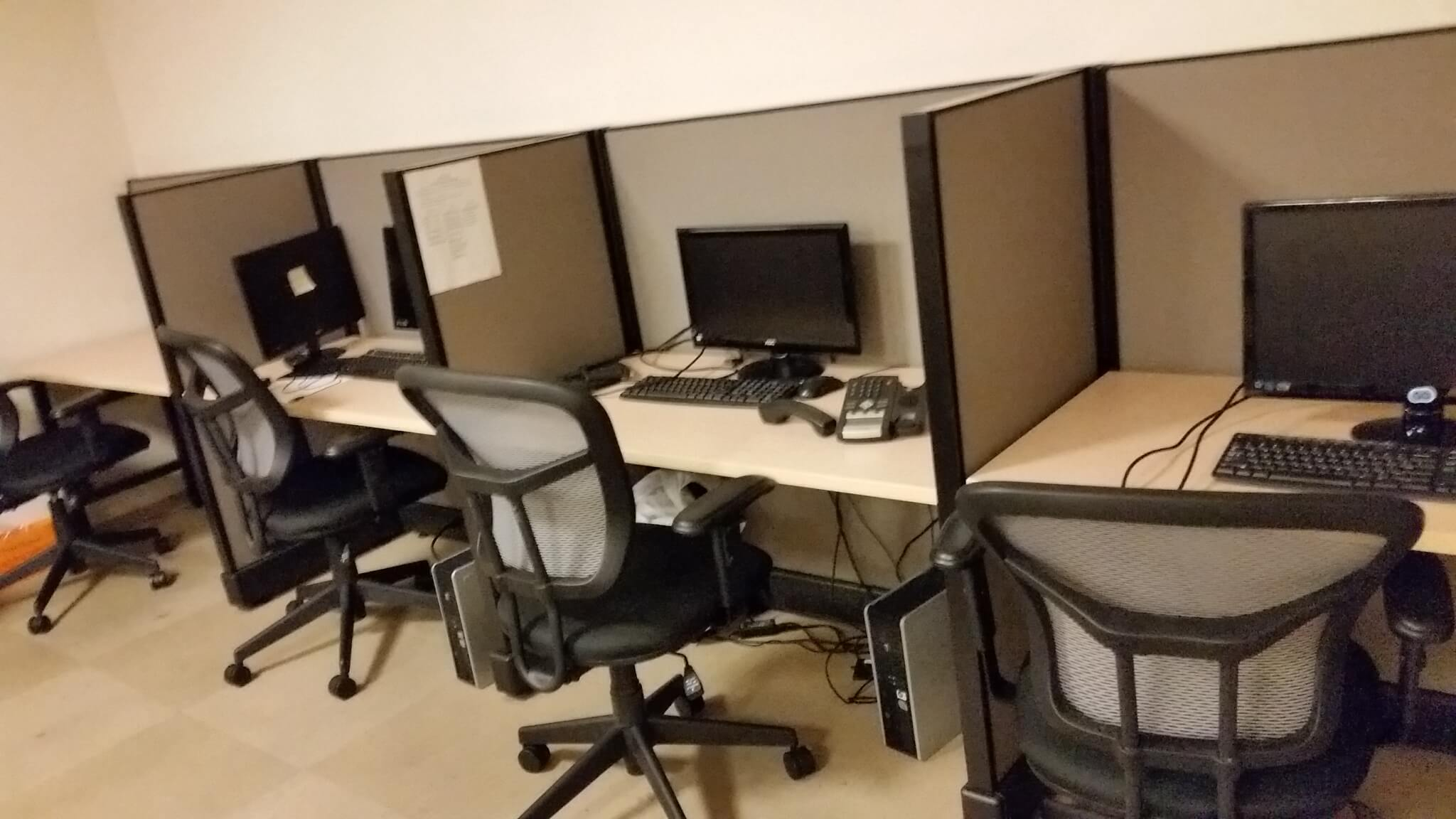 herman miller used office chairs white desk with chair call center furniture - cubicles