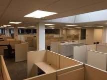 Used Ais Divi 6x7x50h - Medium Panels Cubicles