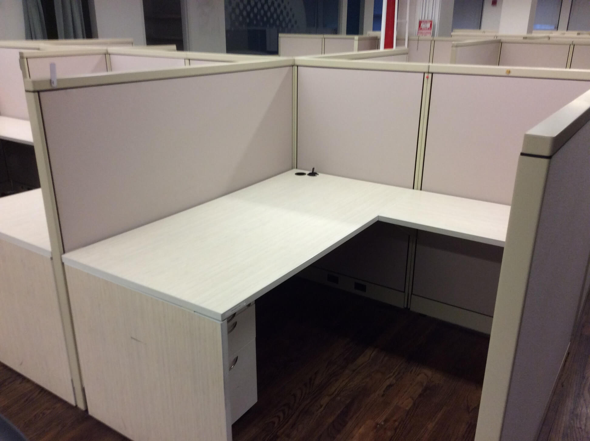 Cubicle Systems 5x5  Used Office Cubicles  Used Cubicles